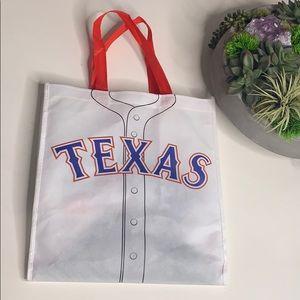 Reusable Texas Rangers 2015 Champions Tote Bag
